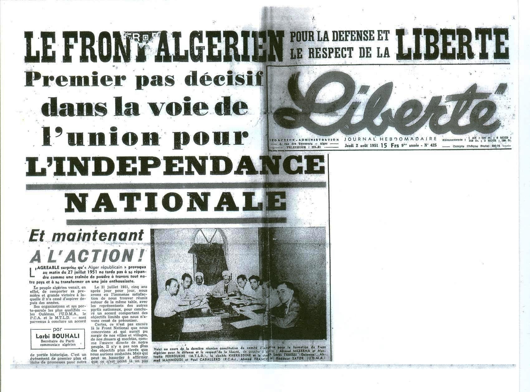 historique des rencontre algerie tunisie