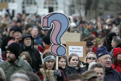 Quand l islande r invente la d mocratie socialgerie for Chambre sociale 13 janvier 2009