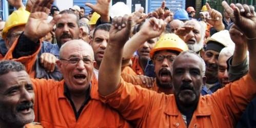 grève des ouvriers d'Helwan