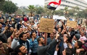 DR-Ouvriers de Hadislob en sit-in