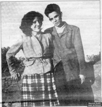 Josette et Maurice Audin