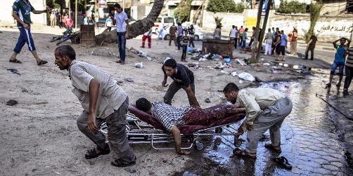 Un bombardement israélien a visé un marché