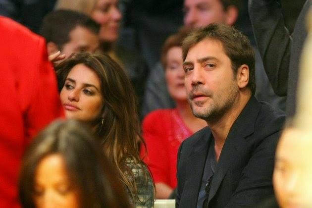 Javier Bardem et son épouse Penelope Cruz