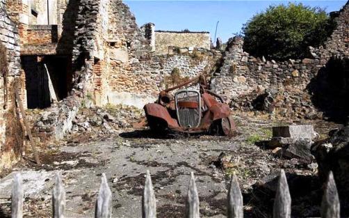 Oradour (il n'y a plus trace de Deir Yassine)