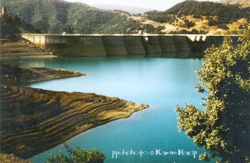 Le barrage d'ErraguèneLe barrage d'Erraguène a noyé le