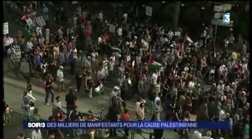 France3. Edition du soir du 2 août 2014