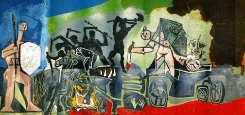 Picasso : la guerre