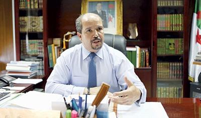 Mohamed Aïssa. Ministre des Affaires religieuses et des Wakfs     © Souhil. B.