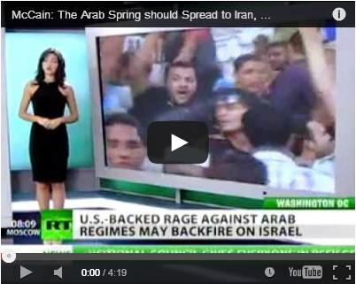 McCain: The Arab Spring should Spread to Iran, China and Russia (September 14, 2011)